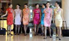 Stewardesses from All Over the World China, Sichuan Airlines