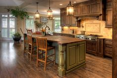 french country kitchens designs   French Country Kitchen Home Interior Decorating Ideas - Luxury Kitchen ...