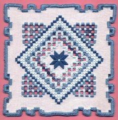 Hardanger Embroidery H137a | Flickr: Intercambio de fotos