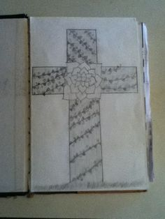 At the cross by Abigail Wells