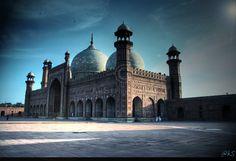 Badshahi Masjid - II by ahmedwkhan.deviantart.com on @deviantART