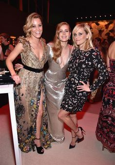 Elizabeth Banks, Amy Adams and Reese Witherspoon - 2017 Oscars: Stars attend Academy Awards afterparties