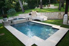 211 Best Geometric Pool Designs images | Pool designs ...