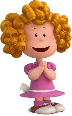 Frieda is the girl who is known for her naturally curly hair. she is extremely proud of it, and is occasionally fixing it.