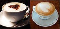 Ainda irei aprender a fazer cappuccinos perfeitos igual esses #iludida ;3