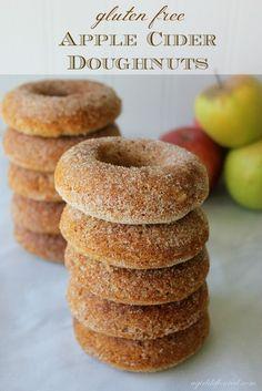 Gluten-Free Apple Cider Doughnuts @Alison | a girl defloured  | G-Free Foodie #GlutenFree