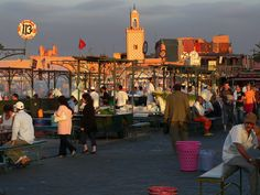 """Marrakech: There are destinations that remain dream destinations for world stars .. of popular destinations including the city of Marrakech which has been classified by the Gala magazine as one of the favorite places or """"darlings"""" of stars. http://www.jemaa-el-fna.com/en/"""