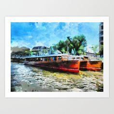 Costa del Tigre Art Print by Diretório Do Design - $22.88
