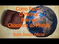 O Melhor Bolo de Chocolate do Mundo - Dieta Dukan Oficial - YouTube