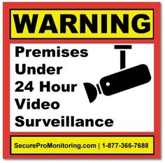 6 Real Authentic Premium Vinyl Door Window Decals Video Surveillance Stickers From a Real Burglar Alarm Company * See this great product-affiliate link. #HomeSecurityCameras