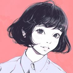 Find images and videos about girl, art and anime on We Heart It - the app to get lost in what you love. Character Illustration, Illustration Art, Kuvshinov Ilya, Art Anime, Wow Art, Pretty Art, Aesthetic Art, Art Inspo, Art Girl