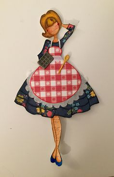 Julie Nutting Prima Doll Stamp Audrey - Betty Crocker
