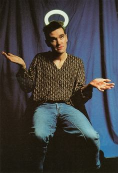 Morrissey from The Smiths
