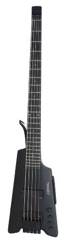 Steinberger Synapse XS-15FPA Bass Guitar with Gigbag, Plain Black. Steinberger amped up the cool with this innovative design. It sounds as great as it looks. Screaming fans shipped separately.