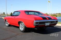 JEGS Customer Featured Car -Ron Quick- 1970 Chevrolet Chevelle SS. Beautiful Car!