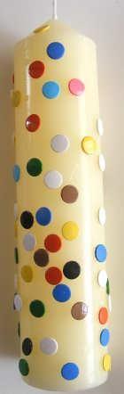 thumb tack Decorative Candle for Diwali