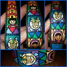 Small World Magic Band by BlueJeanHeart on Etsy