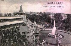 Lunapark, Terrassen am Halensee, 1904