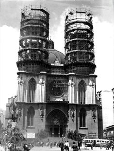 Fachada da Catedral da Sé- São Paulo - Brasil