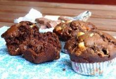 Triplán csokis muffin   NOSALTY Kefir, Something Sweet, A 17, Cake Recipes, Muffins, Birthday Cake, Breakfast, Food, Sweet Dreams