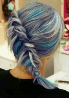 Love the colors!!! Only if my hair would take the color easy without damaging it. My hair is super black. (╯︵╰,)