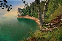 """Miners Castle""  Pictured Rocks National Lakeshore - Munising , Michigan"