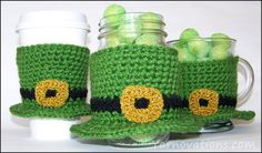 Free Crochet Pattern: Leprechaun Hat Cozy