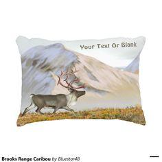 Brooks Range Caribou Accent Pillow
