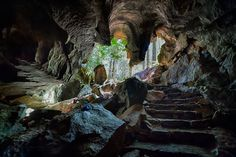 Upana caves on Vancouver Island, Canada Beautiful Places To Visit, Oh The Places You'll Go, Places To Travel, Canadian Travel, Back Road, Vancouver Island, Adventure Is Out There, Island Life, British Columbia