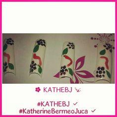 #flower #cute #diseño #design  #uñas #nails  #KATHEBJ ✔