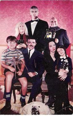 Addams Family fan club postcard (1965)