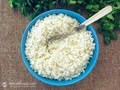 How to Make Cauli-rice (low-carb, keto, paleo)