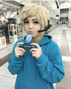 Image result for mystic messenger yoosung cosplay