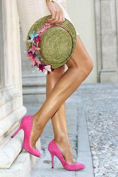 Invitada a boda*. MY CANOTIER by @Conchy Aisa Muñoz Copé. ¡Me encanta esta combinación!