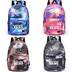 Boys girls #galaxy canvas travel rucksack/backpack leisure #school bag #shoulderb,  View more on the LINK: http://www.zeppy.io/product/gb/2/272508035537/