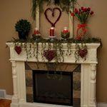 Savvy Southern Style: Valentine Mantel