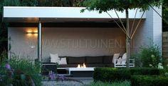 Vuurtafel design van twitter @STIJLTUINEN  www.stijltuinen.nl Maatwerk vuurtafels te bestellen bij erik van gelder, stijltuinen.