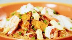 Nonya Laksa | food for life tv | Video Recipes, Local Dishes, Kitchen Hacks