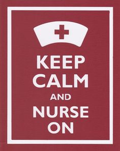 Keep Calm and Nurse On Graphic Wall Art. $12.00, via Etsy. @Linsey Johnson-Hernandez, @Adriana Otting