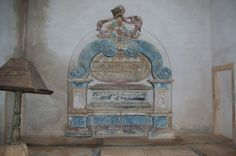 Tomb of D. Afonso, first Duke of Bragança, bastard son to King D. João I of Portugal.