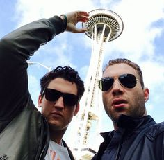 Miles Teller and Jai Courtney in Seattle I love their friendship