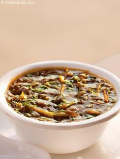 Hot and Sour Soup ( Exotic Diabetic Recipe )