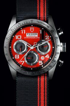 ♂ Tudor watch black & red from #ecogentleman