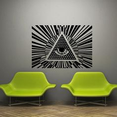 Wall Decal Art Decor Decals Sticker Amulet Spell Eye Illuminati Annuit Coeptis Providence Protection Triangle See (M1145) DecorWallDecals http://www.amazon.com/dp/B00KXSMYEY/ref=cm_sw_r_pi_dp_USV2ub05A0TBP