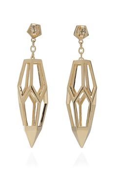 Hedron earrings by Eddie Borgo