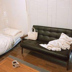 念願のソファーのある生活 #sofa #interior #home