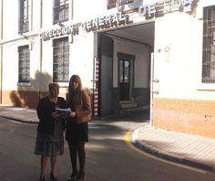 """Málaga.- La portavoz socialista en el Ayuntamiento de Málaga, María del Carmen Moreno, ha pedido esta mañana al equipo de gobierno del PP que """"saque de la desidia"""" al edificio del antiguo Centro de Internamiento de Extranjeros (CIE) de la capital"""