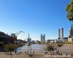 Puerto Madero Buenos Aires www.mrbelltravels.com
