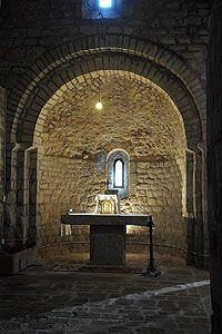 Sant Miquel de Fluvià Monastery.  s.XI Alt Emporda. Catalonia | Europe
