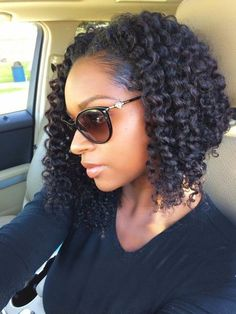 40 Crochet Braids Hairstyles and Pictures - Part 30 Crochet braids have become a huge trend in the past few years. Take a look at these 70 inspiring and super trendy crochet braids hairstyles! American Hairstyles, Girl Hairstyles, Braided Hairstyles, Black Hairstyles, Protective Hairstyles, Layered Hairstyles, Hairstyles Haircuts, Crochet Weave Hairstyles, Protective Styles